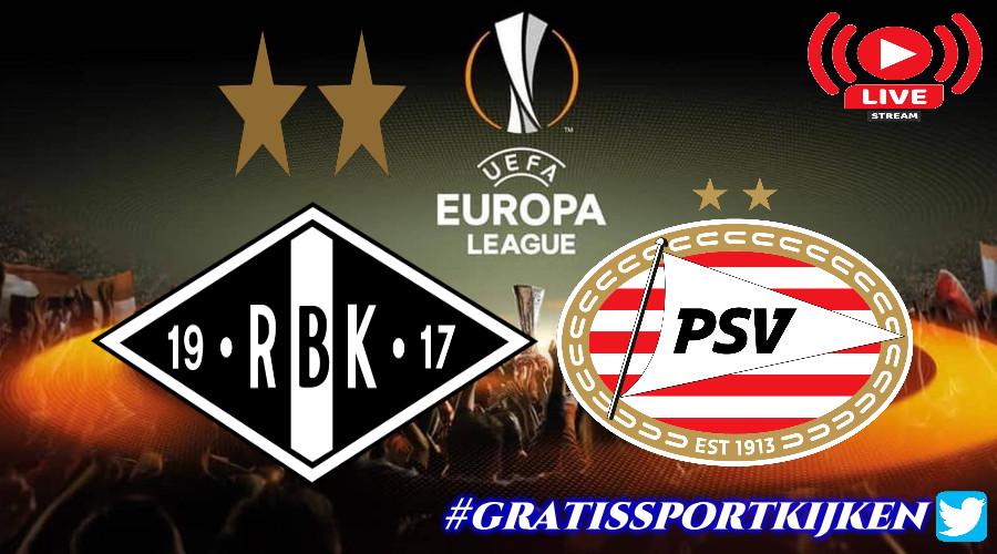 Livestream Rosenborg BK - PSV