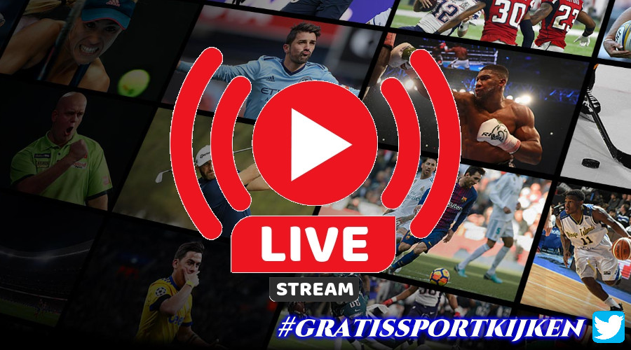 Livestream gratis sport kijken