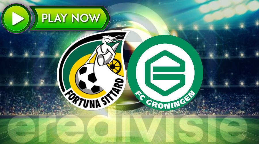 Kijk hier gratis Fortuna Sittard - FC Groningen via de livestream