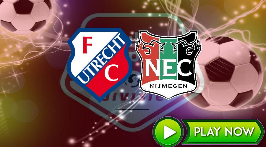 Livestream Jong FC Utrecht - NEC