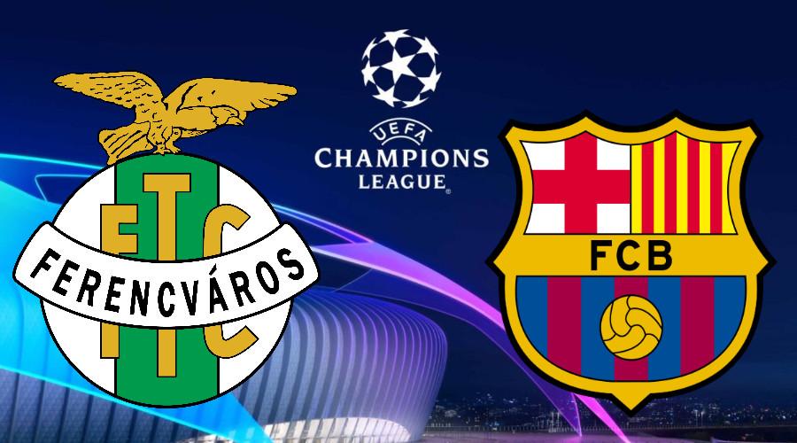 Livestream Ferencvaros - FC Barcelona