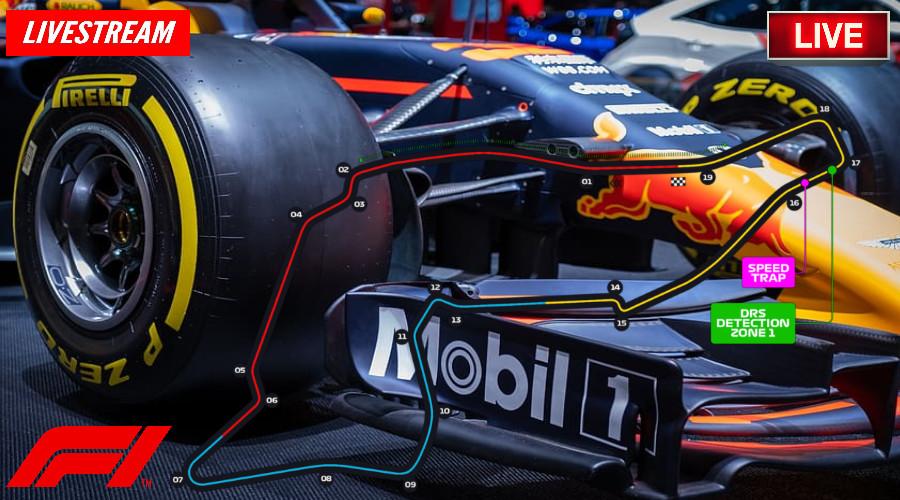 Emilia Romagna Formule 1 livestream