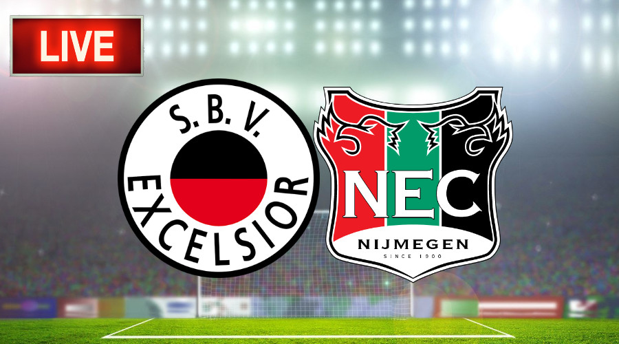 Excelsior - NEC voetbal livestream