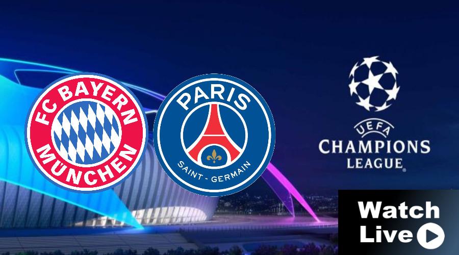 FC Bayern - PSG Champions League LIVE STREAM