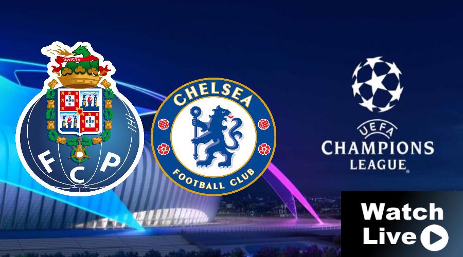 FC Porto - Chelsea Champions League LIVE STREAM