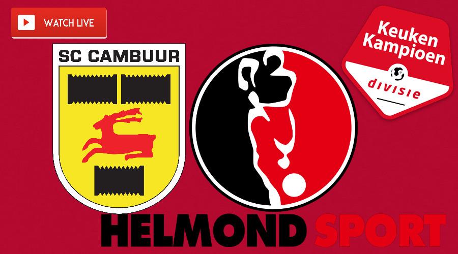SC Cambuur - Helmond Sport kijken via een gratis livestream