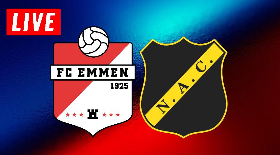 FC Emmen - NAC Breda play-offs live stream