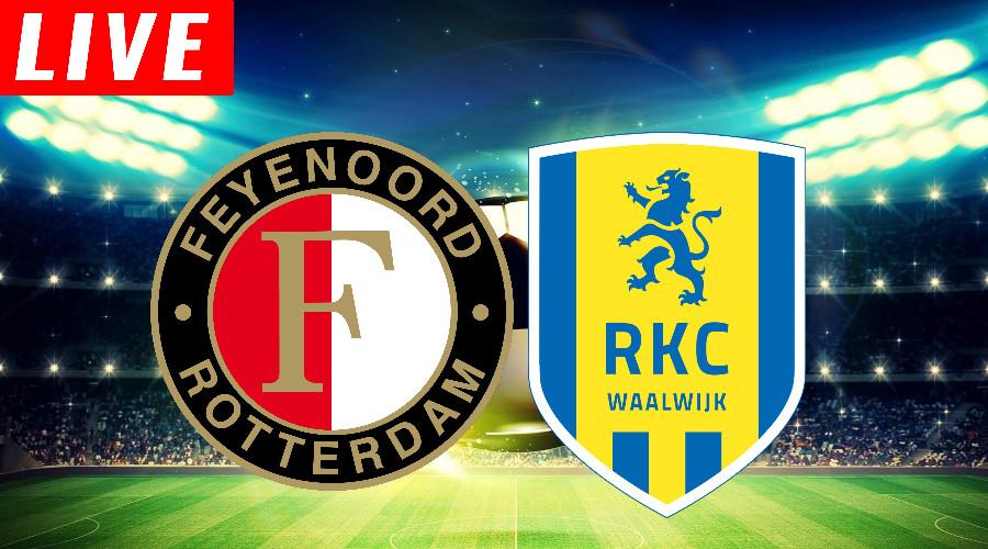 Feyenoord - RKC kijken via gratis live stream