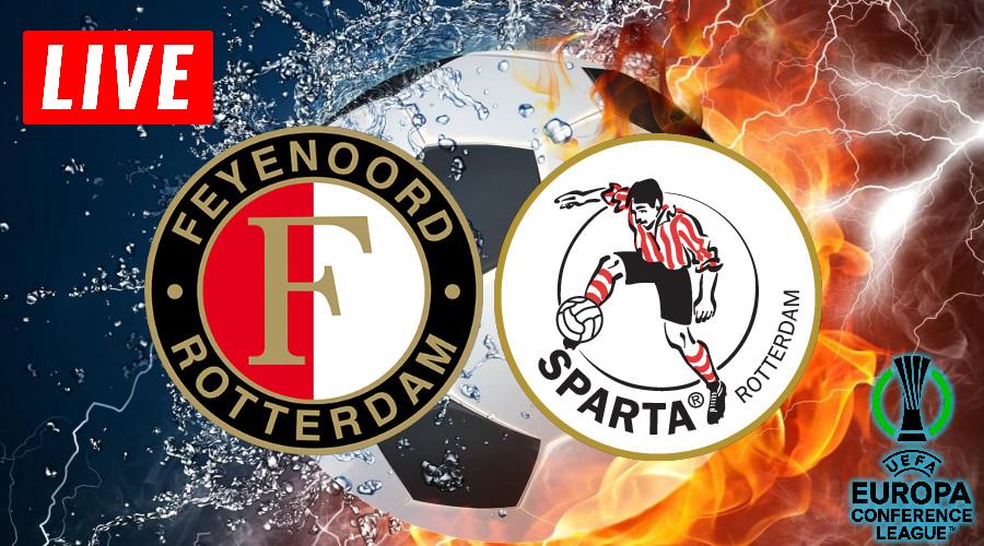 Feyenoord - Sparta play-offs live stream