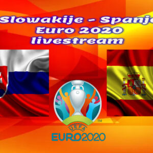 EK Voetbal live stream Slowakije - Spanje