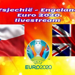 EK Voetbal live stream Tsjechië - Engeland