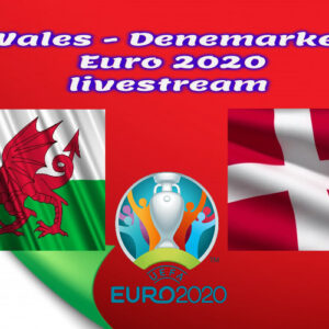 EK Voetbal live stream Wales - Denemarken