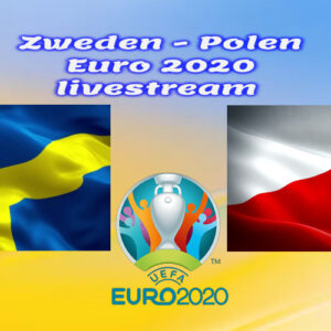 EK Voetbal live stream Zweden - Polen