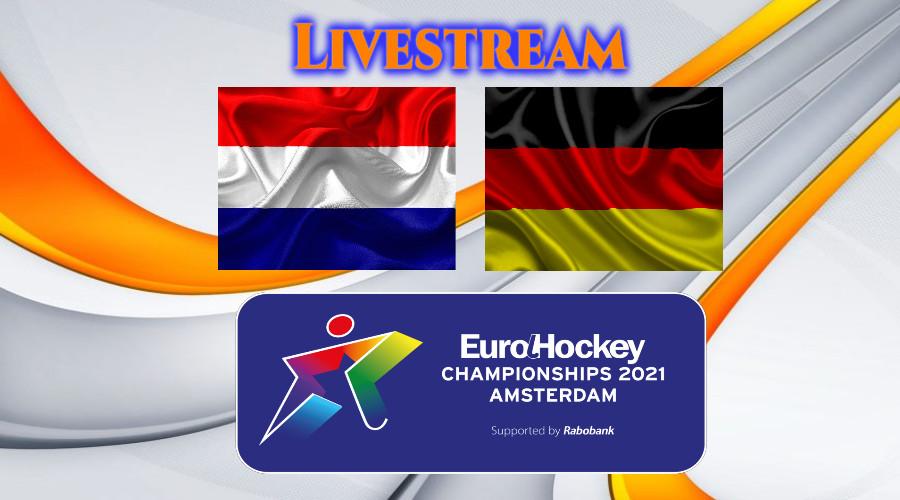 Nederland - Duitsland EK Hockey livestream