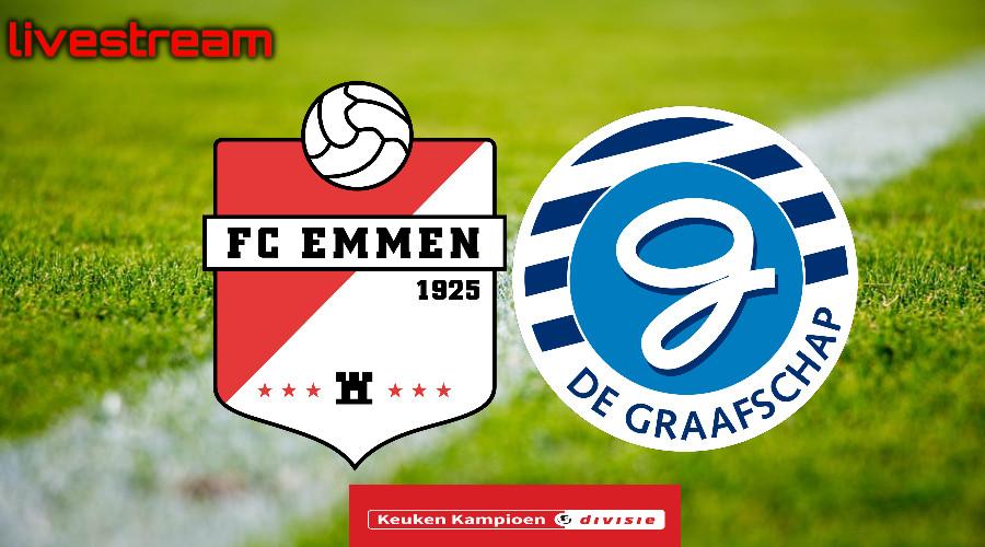 Kijk via een livestream hier FC Emmen - De Graafschap
