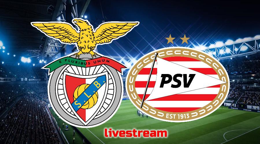 Gratis Champions League live stream Benfica - PSV