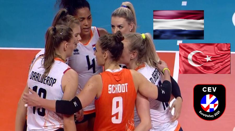 Gratis EK volleybal live stream Nederland – Turkije