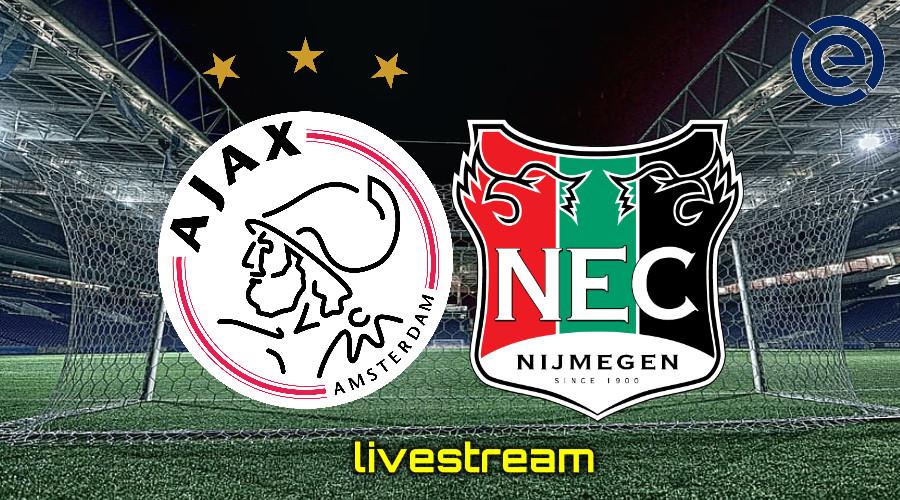 Gratis live stream Ajax - NEC