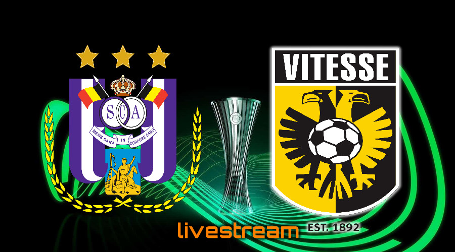 Gratis live stream RSC Anderlecht - Vitesse