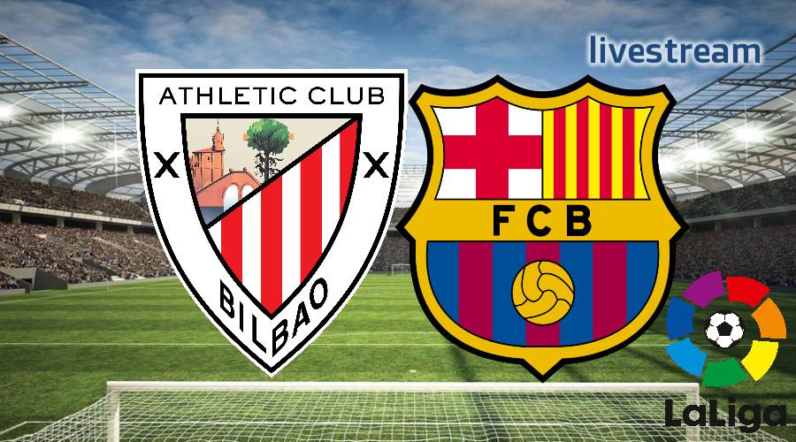 Gratis live stream Athletic Bilbao - FC Barcelona