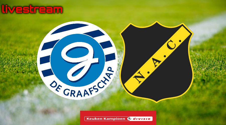 Gratis live stream De Graafschap - NAC Breda