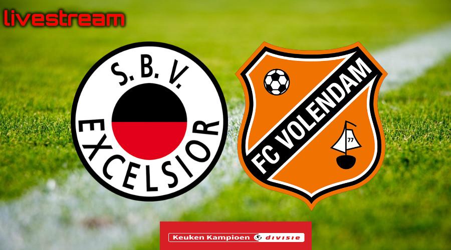 Gratis live stream Excelsior - FC Volendam