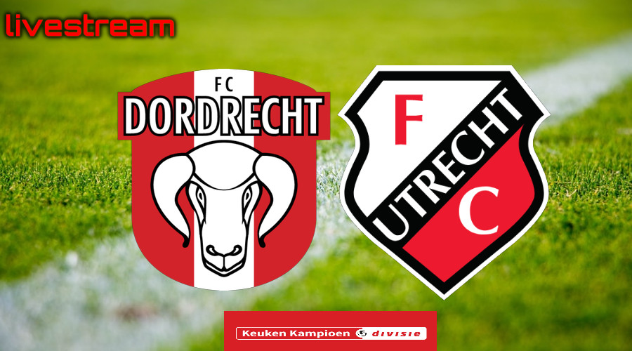 Gratis live stream FC Dordrecht - Jong FC Utrecht