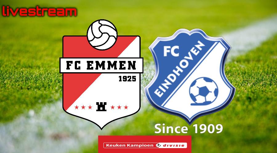 Gratis live stream FC Emmen - FC Eindhoven