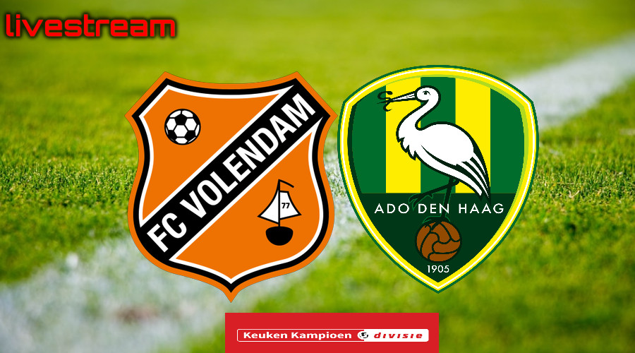 Gratis live stream FC Volendam - ADO Den Haag