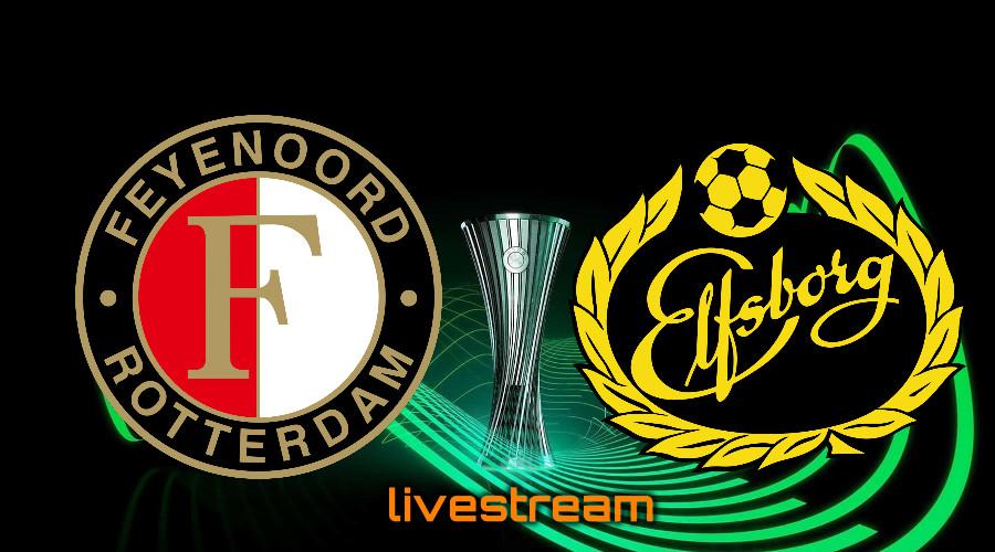 Gratis live stream Feyenoord - IF Elfsborg