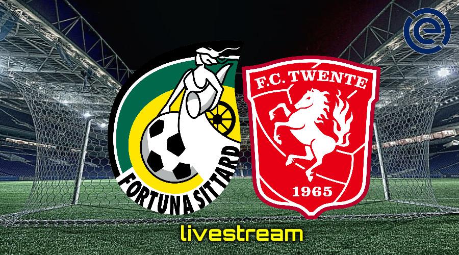 Gratis live stream Fortuna Sittard - FC Twente