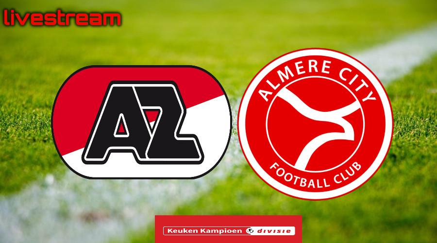 Gratis live stream Jong AZ - Almere City FC