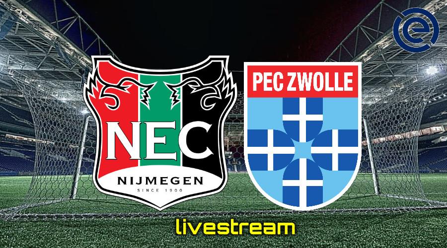 Gratis live stream NEC - PEC Zwolle