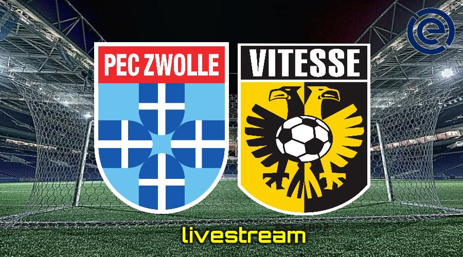 Gratis live stream PEC Zwolle - Vitesse