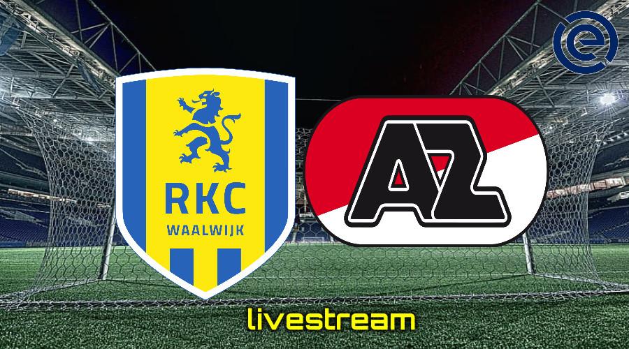 Gratis live stream RKC Waalwijk - AZ Alkmaar