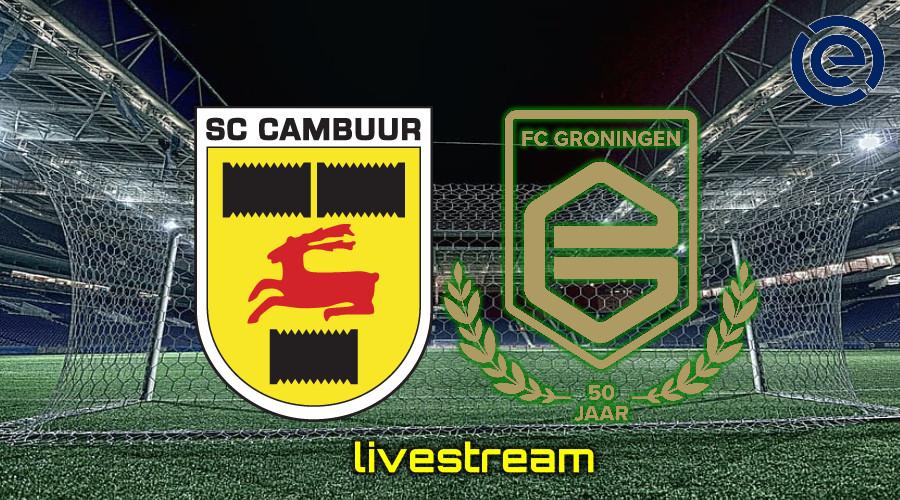 Gratis live stream SC Cambuur - FC Groningen