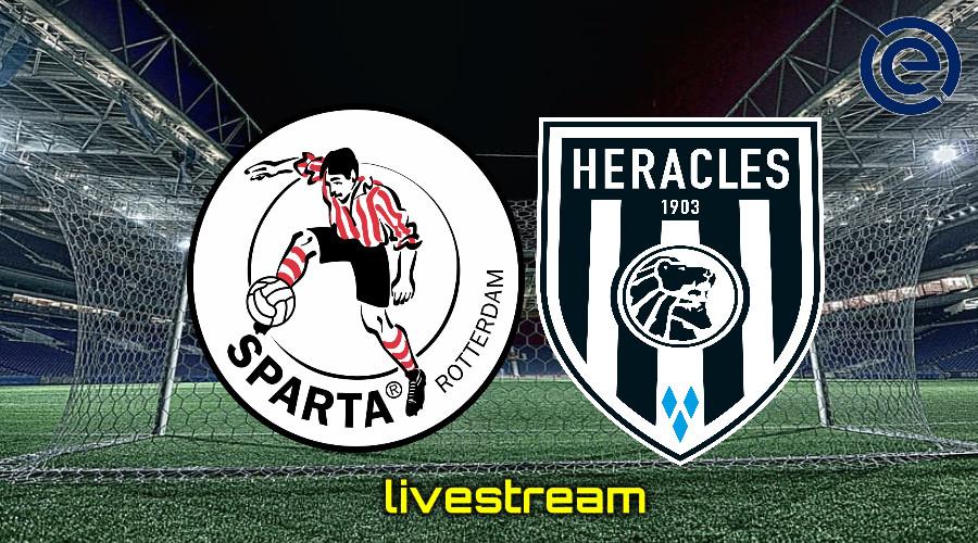 Gratis live stream Sparta Rotterdam - Heracles Almelo