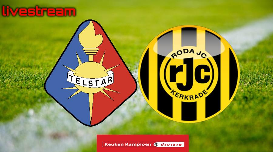 Gratis live stream Telstar - Roda JC
