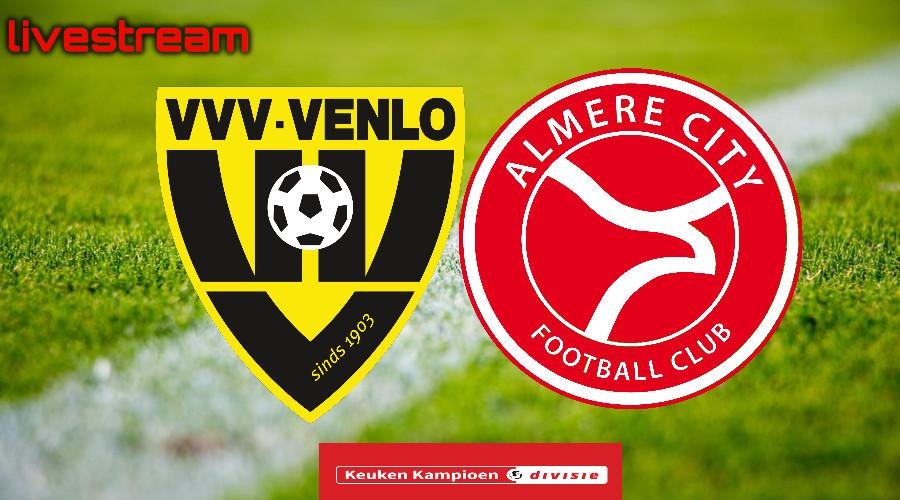 Gratis live stream VVV-Venlo - Almere City FC