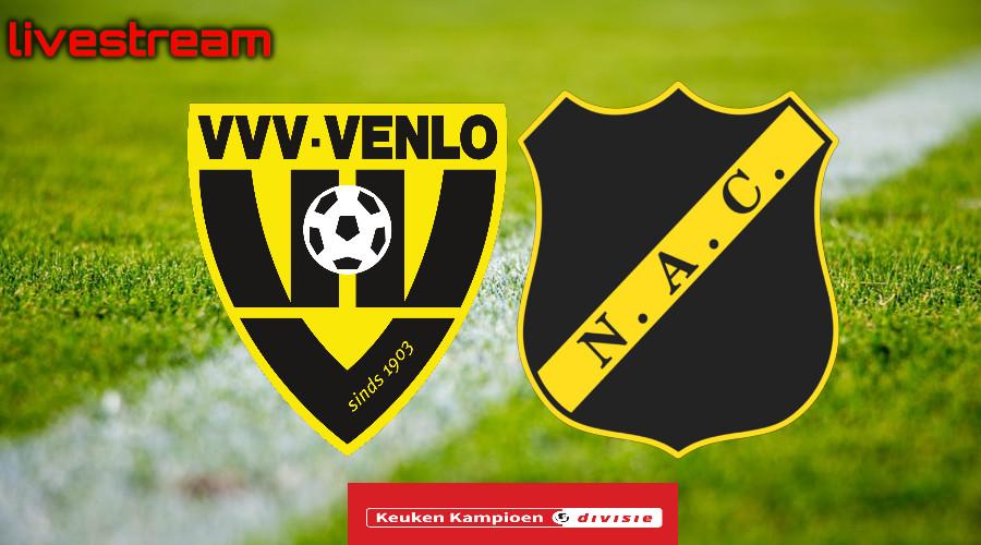 Gratis live stream VVV-Venlo - NAC Breda