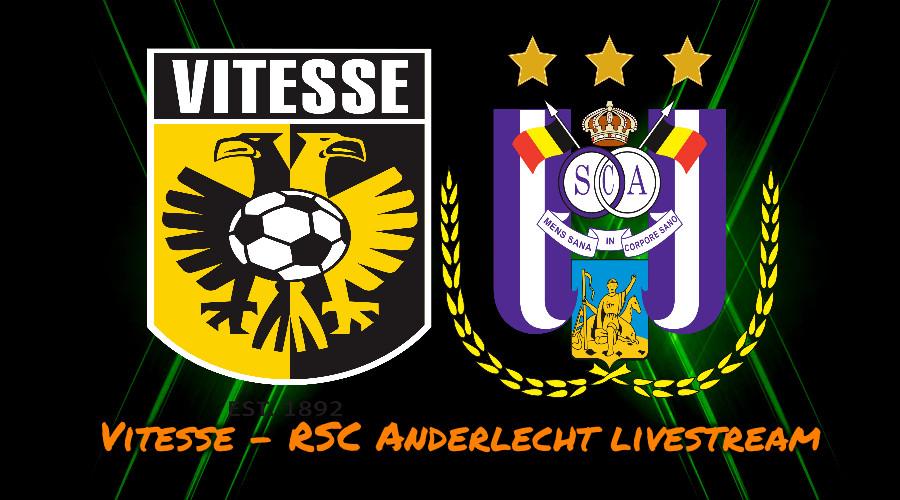 Livestream Vitesse - RSC Anderlecht