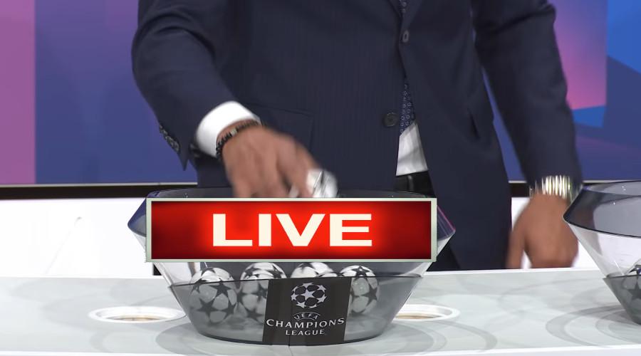 Livestream loting groepsfase Champions League