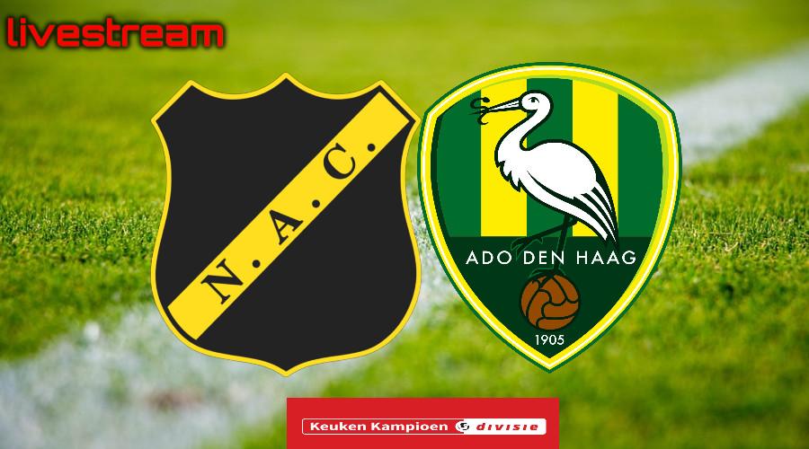Livestream NAC Breda - ADO Den Haag