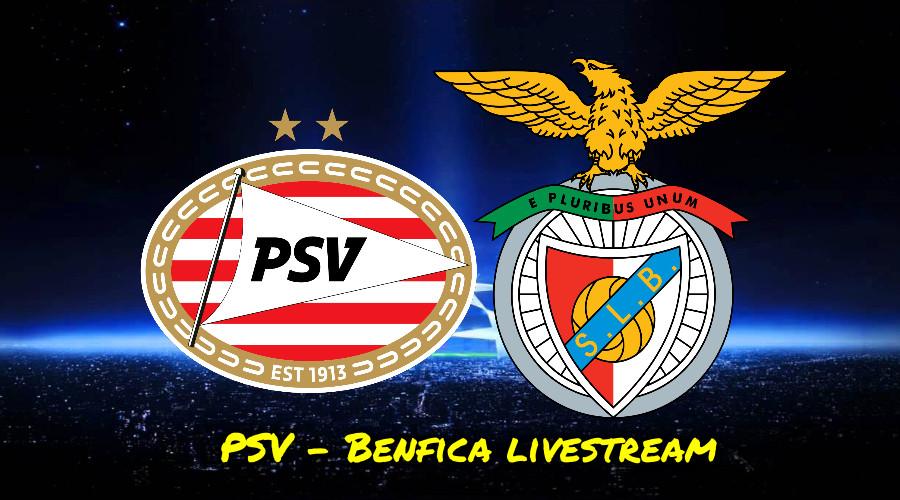 PSV - Benfica kijken via een gratis livestream