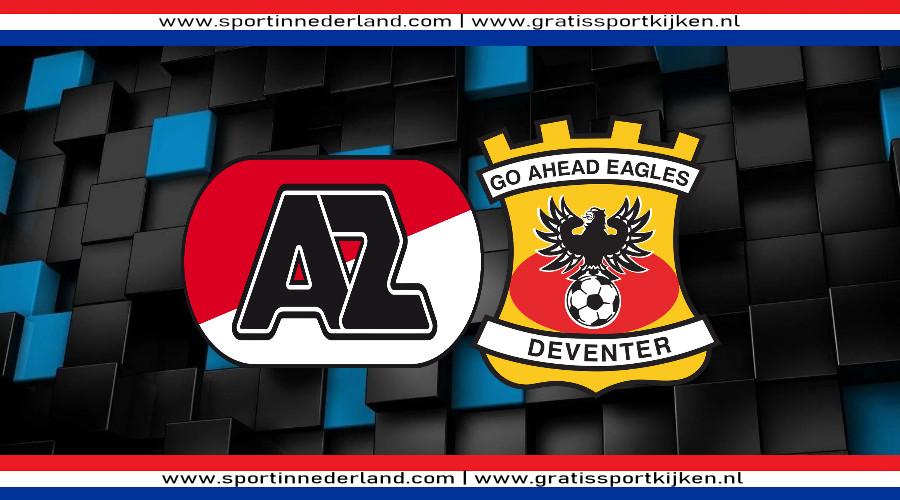 AZ - Go Ahead Eagles gratis livestream