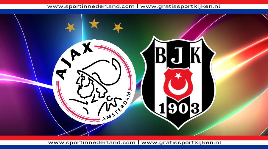 Ajax - Besiktas gratis livestream