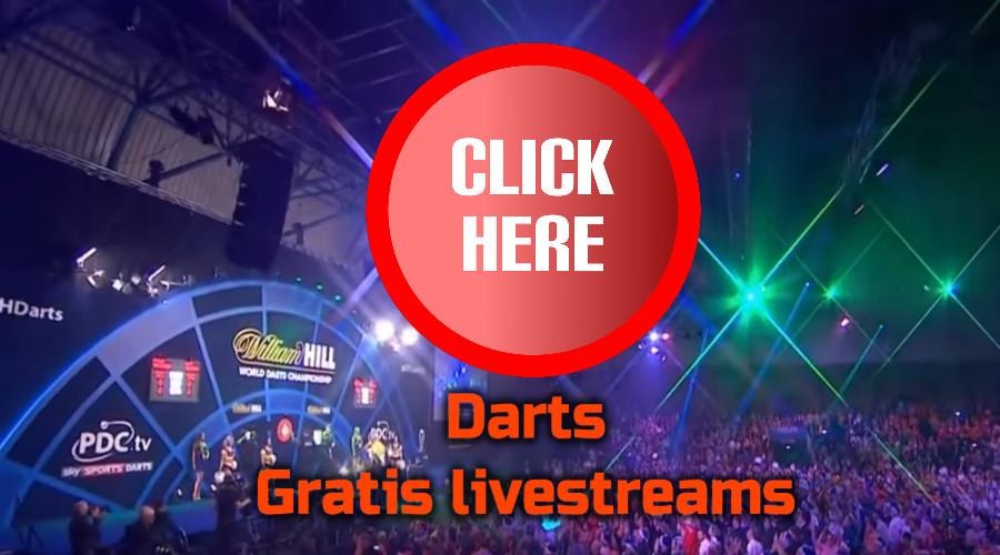 Darts kijken via de Gratis Sport Kijken live stream