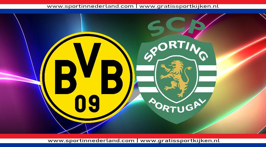 Dortmund - Sporting gratis livestream