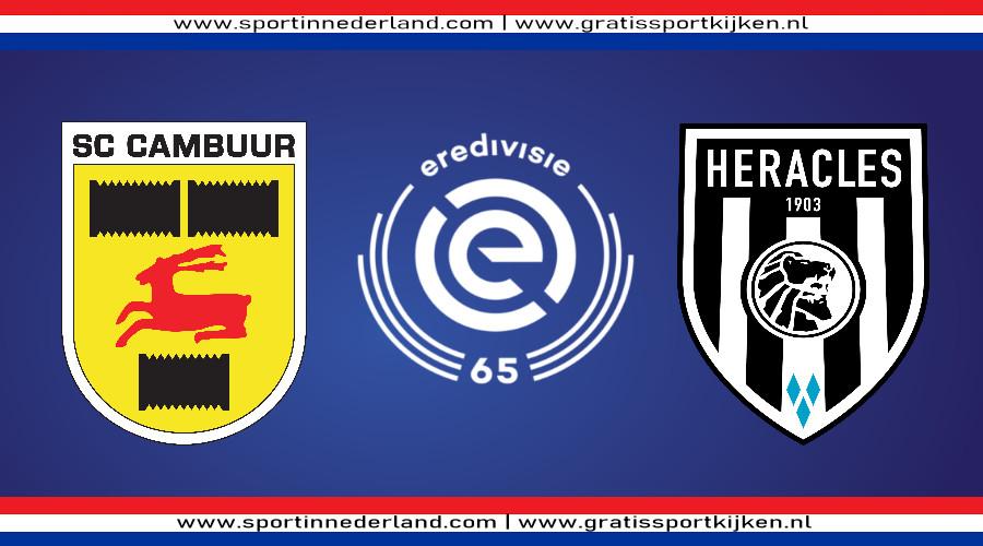 Eredivisie live stream SC Cambuur - Heracles Almelo