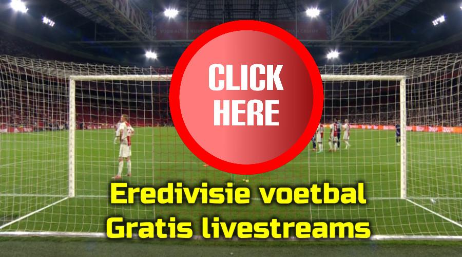 Eredivisie voetbal kijken via de Gratis Sport Kijken live stream